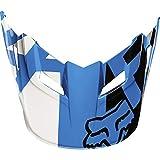 Fox Racing Race Visor Men's MX15 V1 Off-Road Motorcycle Helmet Accessories - Blue/X-Large/2X-Large