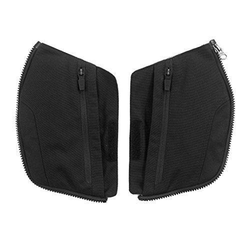 Clover Pockets Kit - Wechselbare Taschen für Crossover-3 Motorradjacke, Schwarz, S