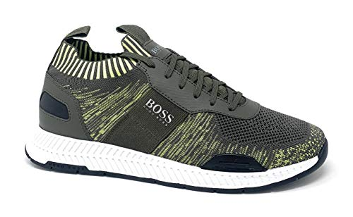 Hugo Boss Men's Titanium Run ks20 50428381 001 (10.0M US) Open Green