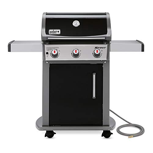 Weber 47510001 Spirit E310 Natural Gas Grill, Black