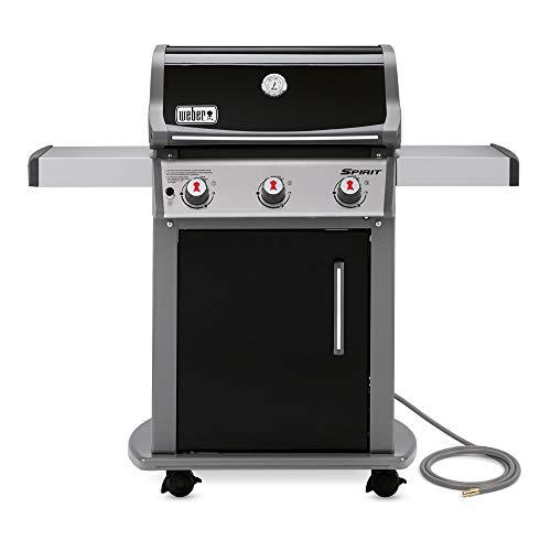 Weber Spirit 3 Burner Natural Gas Grill - Black - Model 4.75100001E8