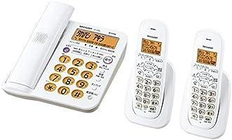 シャープ 電話機 コードレス 親機コードレス 子機2台 JD-G56CW