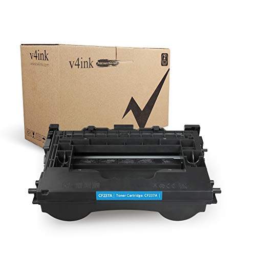 V4INK 1 Pack New Replacement for CF237A 37A Toner Cartridge for use with Laserjet Enterprise M608n M607n M607dn M608x M609dn,MFP M631 M632 M633 Printers