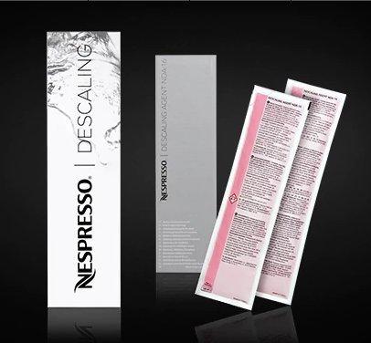 Nespresso Entkalkungs-Set mit 2 Einheiten