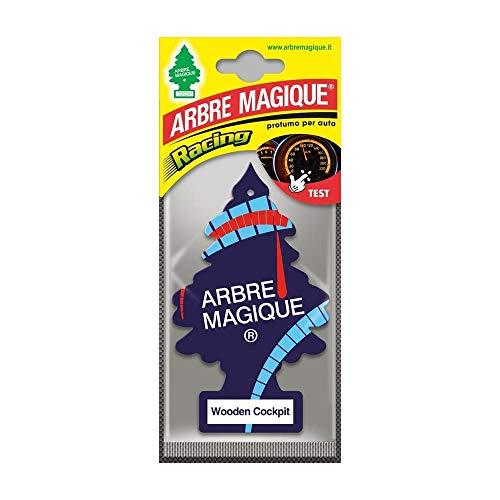LIEMI  Arbre Magique Deodorante per Auto Wooden Cockpit/Wooden Musk
