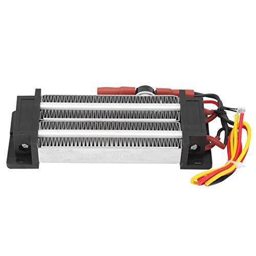 Calentador de ventilador PTC aislado de 600 vatios, calefacción de cerámica PTC multifuncional para casa de mascotas, calentador corrugado PTC para secador de pelo 10 s, resistencia a la temperatura,
