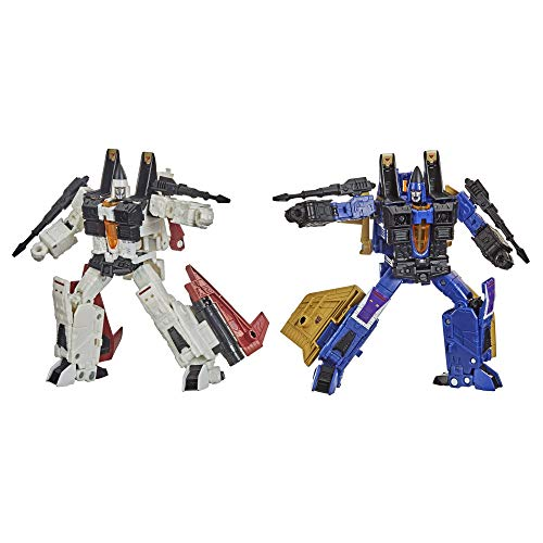 Transformers Toys Generations War for Cybertron: Earthrise Voyager WFC-E27 Seeker Elite 2-Pack Action Figures - Kids Ages 8 and Up, 7-inch