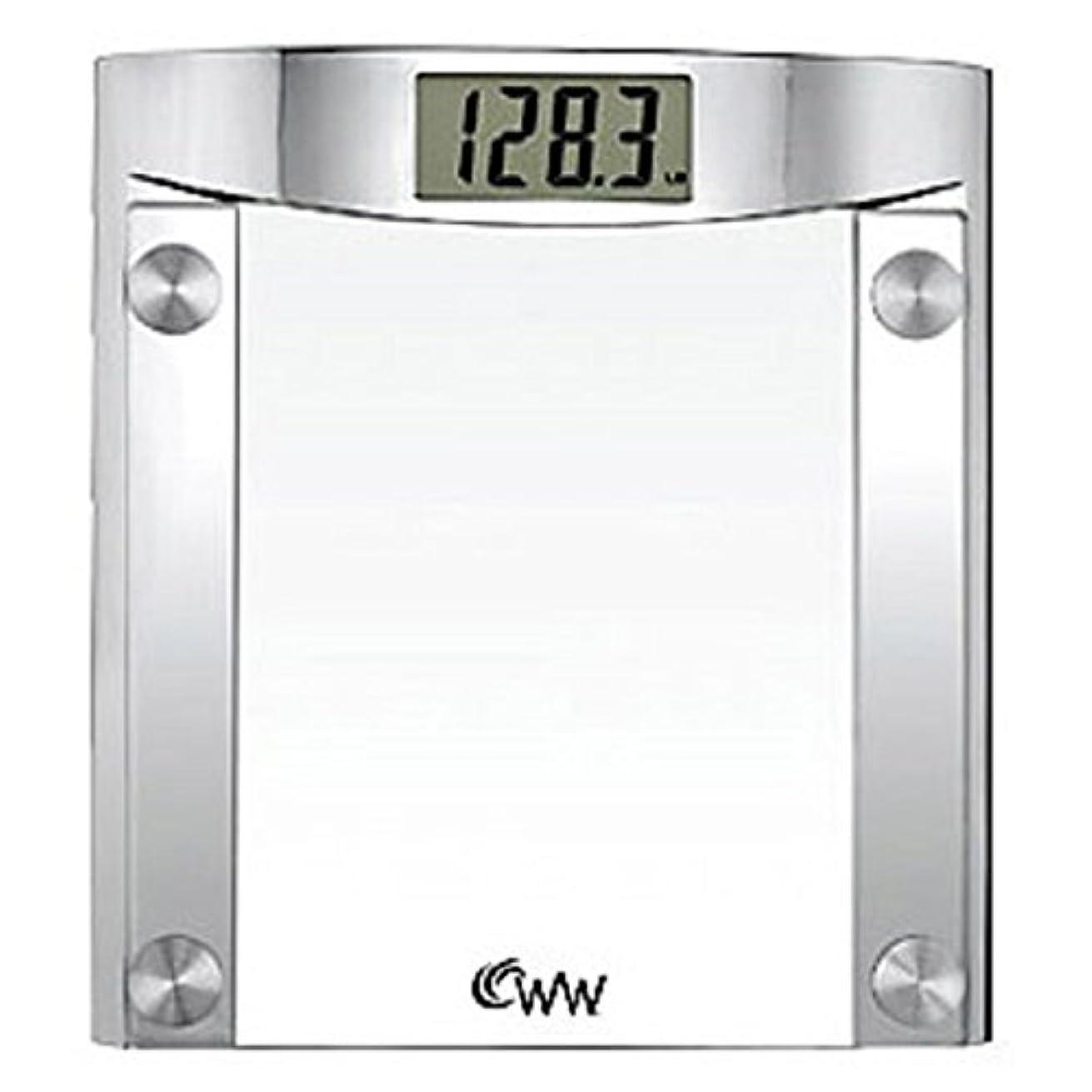 光沢のある圧縮された郵便番号Conair CONAIR CNRWW44 WEIGHTWATCHER GLASS SCALE