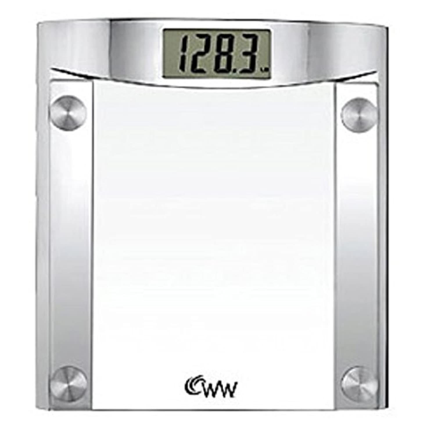 水銀のアラーム可能にするConair CONAIR CNRWW44 WEIGHTWATCHER GLASS SCALE