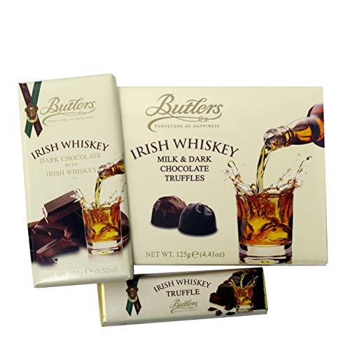 Butlers Irish Whiskey Goodies aus dunkler Schokolade im Präsent Set