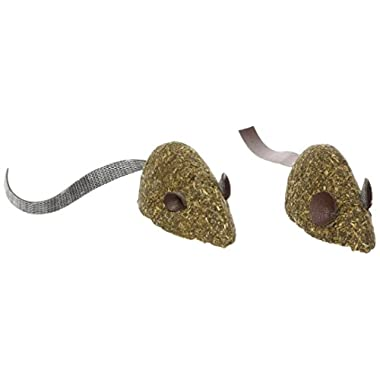 Ethical 100-Percent Catnip Candy Mice Cat Toy, 2-Pack