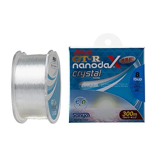 サンヨーナイロン ナノダックスライン アップロード GT-R nanodaX クリスタルハード 300m 4lb クリスタルク...