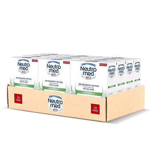 Neutromed Detergente Intimo Freschezza, con Complesso Micellare, Azione Antibatterica, pH...
