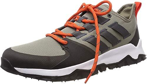 adidas Herren Kanadia Trail Fitnessschuhe, Mehrfarbig (Cartra/Grisei/Negbás 000), 44 2/3 EU