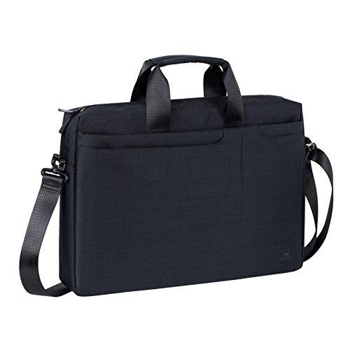 RivaCase 8335 Laptop Bag 15.6', Borsa per Laptop Fino a 15.6', Nero