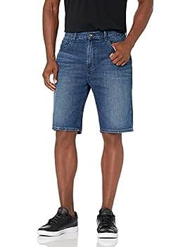Nautica Men s Relaxed Fit 5 Pocket 100% Cotton Denim Jean Short Glacier Blue Wash 36W
