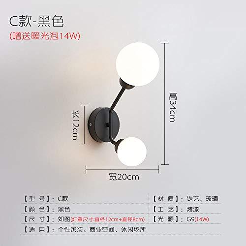 Lampen wandlamp wandlamp wandlamp vloerlamp wandlamp kooi ijzer slaapkamer nachtkastje Nordic wandlamp vloer trap