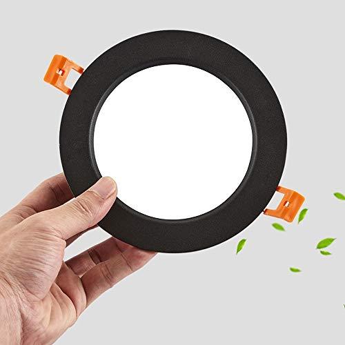 Jtivcs 05.03/12.07 / 18W Downlamp Embedded Deckeneinbauleuchte LED-Instrumentenbeleuchtung Wohnzimmer Drehbare Einbau Dekoration Anti-Fog-Augenschutz Deckenverkleidung Licht Leuchte