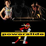 10ft Powerslide Slide Board Lateral Exercise Trainer (Medium Booties)