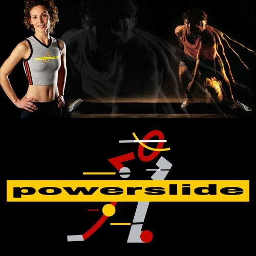 Powerslide 10ft Slide Board Lateral Exercise Trainer (Large Booties)