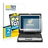 BROTECT Schutzfolie kompatibel mit Panasonic Toughbook CF-33 (2 Stück) klare Bildschirmschutz-Folie
