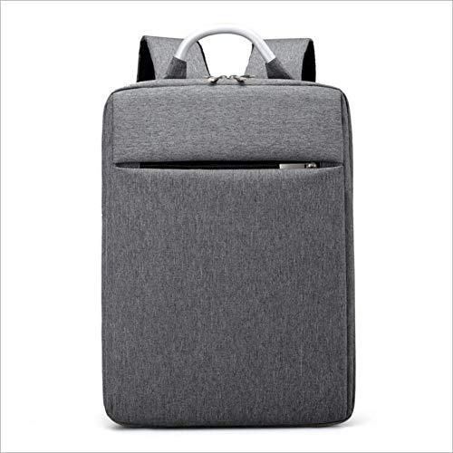Rucksack Computer Tasche Oxford Tuch Rucksack, Tragbarer Rucksack, Schul Student Tasche Anti-Diebstahl-Reisetasche Multifunktions-Männer Und Frauen,Gray