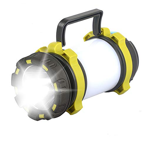 Reuyer LED ランタン USB充電式 懐中電灯 キャンプランタン 4つ点灯モード切替 200m遠距離照射 COB高輝度 テントライト 非常用 SOS防災用品 応急 停電 登山 夜釣り ハイキング