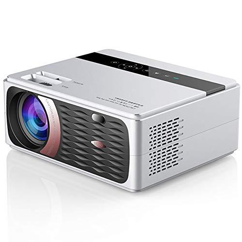 OOFAJ [2020 Neuer] Mini Beamer, 8000 Lumen 1080P HD LED-Videoprojektor Mit Trapezkorrektur 1920X1080p Unterstützung 4K 180