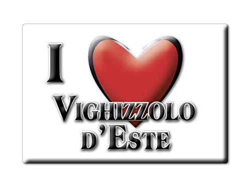 Enjoymagnets VIGHIZZOLO D'ESTE Souvenir Veneto (PD) KÜHLSCHRANK Magnet ICH Liebe Gift (VAR. NORMAL)