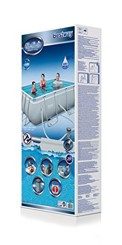 Bestway Frame Pool Power Steel Set 282x196x84 cm - 5