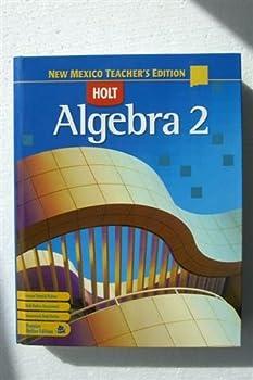 Algebra 2, New Mexico Teacher's Edition 0030923530 Book Cover