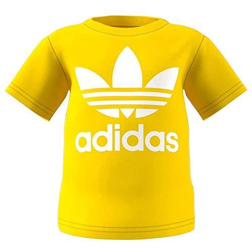 adidas I TRF Camiseta, Unisex bebé, Amarillo (amaril/Blanco), 86-12/18 Meses