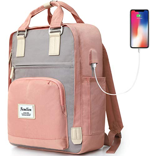 School Backpack for Girls,Backpack Women Laptop Bookbag Fit 15.6 Inch,College Backpack High School Bookbag Daypack for University