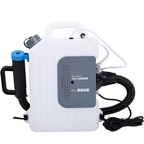 Pulverizador de Mochila, 220V 1400W 10L 8-12m Larga Distancia Pulverizador Eléctrico Multipropósito...