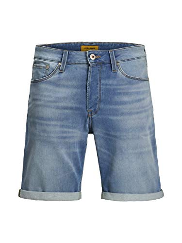 JACK & JONES Herren Jeansshorts Rick Icon GE 003 MBlue Denim