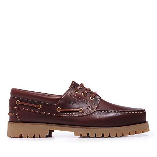 Zapatos Náuticos de Piel para Hombre - Son Castellanisimos