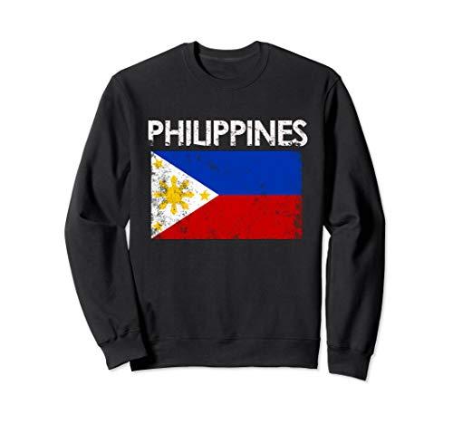 Vintage Philippines Filipino Flag Pride Gift Sweatshirt