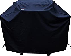 a1cover Grill Cover, Heavy Duty Waterproof Barbeque Grill Covers Fits Weber, Holland, Jenn Air, Brinkman, Char Broil, Medium