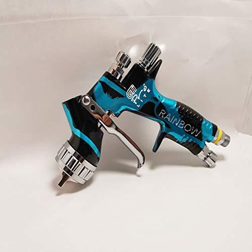 New GTI PRO LITE HVLP Gravity Spray Paint Gun Fluid Tips 1.3mm tips with tank Car Paint Tool Pistol Spray Gun