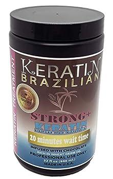 Brazilian Keratin Chocolate Strong+ 32 FL OZ Kachita Spell 1 Litre Black Edition Made in USA