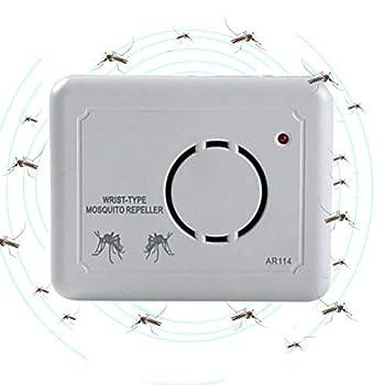 TAIPPAN Anti-Moustique ultrasonique Répulsif portatif antiparasitaire Bogues Anti-Insectes Non Toxiques, Rat repoussant Efficace, araignée, Souris, Fourmi, cafard, Punaise de lit