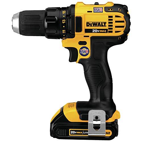 DEWALT 20V MAX Cordless Drill Combo Kit , 8-Tool (DCK881D2)