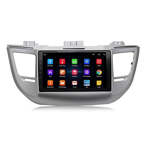 XZZTX 10 Pollici Schermo di Tocco di Navigazione GPS per Auto Radiohead unità 2015-2018 Hyundai Tucson Supporto USB Bluetooth WiFi FM Specchio Link Controllo del Volante
