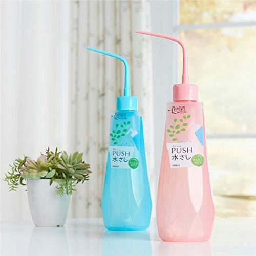 KEFRASS Transparente Blumen-Bewässerungs-Flasche for Garten Innen Transparent Squeeze Dosen Multi-Fleisch japanischen Tropfwasserkocher Garten @D (Farbe : B)