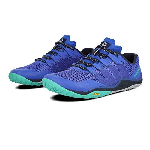 Merrell Trail Glove 5, Zapatillas Deportivas para Interior Mujer, Azul (Dazzle), 37 EU
