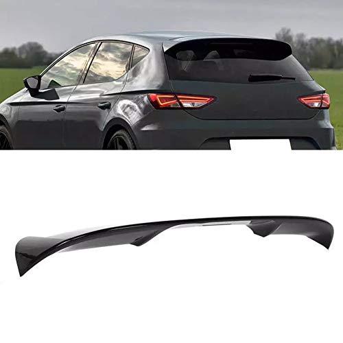ABS nero lucido spoiler sul tetto posteriore per SEAT Leon 5F Mk3 5 porte 2013 2014 2015 2016 2017 2018 2019 2020