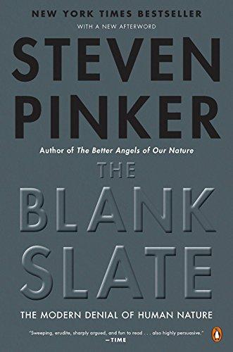 The Blank Slate: The Modern Denial of Human Nature (English Edition)