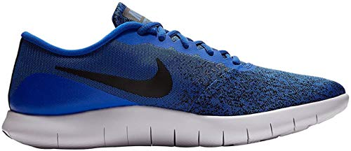Nike Herren Flex Contact Laufschuhe, Mehrfarbig (Racer Blue/Black-WHI 404), 42 EU