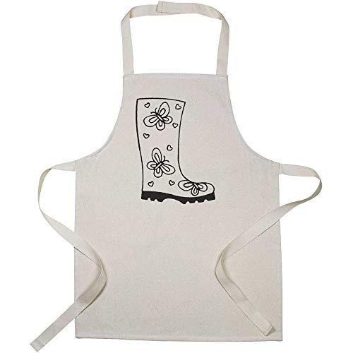 Azeeda 'Gummistiefel' Kinder Kochschürze (AP00027941)
