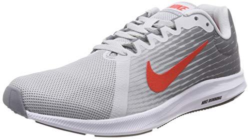 Tênis Nike Wmns Downshifter 8 Masculino - Cinza e Vermelho - 39